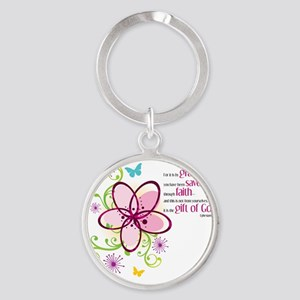 by-grace Round Keychain