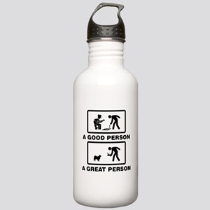 Finnish Lapphund Stainless Water Bottle 1.0L