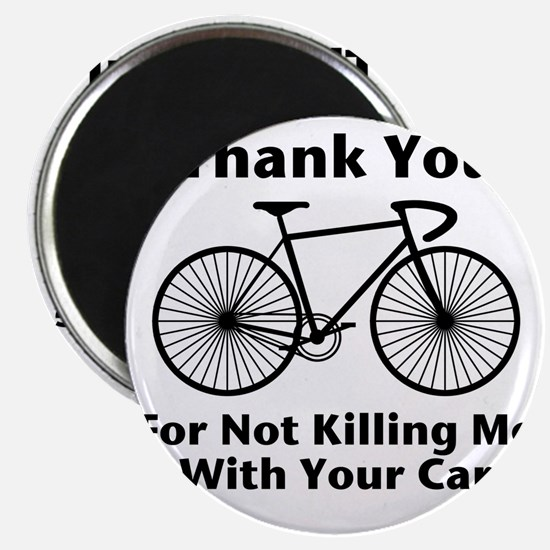Thank You - Bicycle Magnet