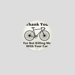 Thank You - Bicycle Mini Button