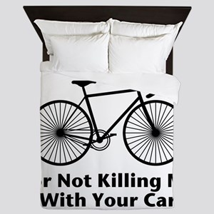 Thank You - Bicycle Queen Duvet