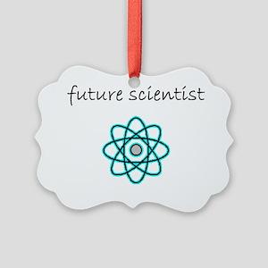 future scientist Picture Ornament