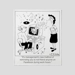 8572_facebook_cartoon_PF Throw Blanket