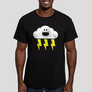 thunderandlightning Men's Fitted T-Shirt (dark)
