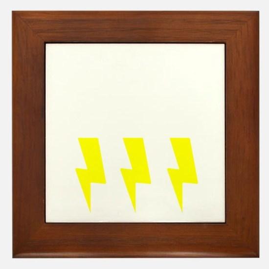 thunderandlightning Framed Tile