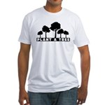 Plant Tree Fitted T-Shirt