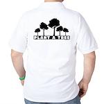 Plant Tree Back Image Golf Shirt