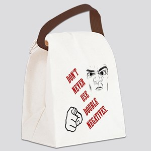 DoubleNegatives Canvas Lunch Bag