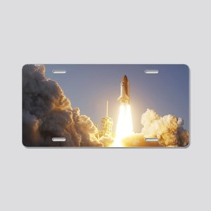 520391main_2011-1643-m Aluminum License Plate
