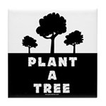 Plant Tree Tile Coaster