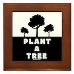 Plant Tree Framed Tile