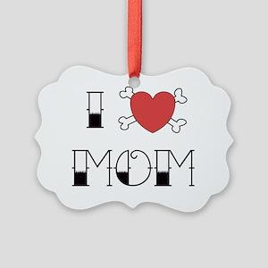 IheartMom Picture Ornament