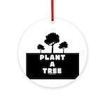 Plant Tree Ornament (Round)