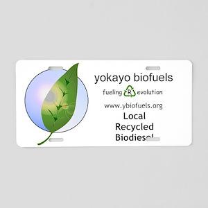 bumper sticker Aluminum License Plate