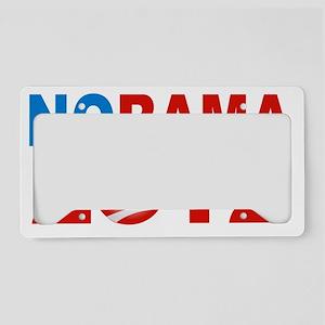 nobama 2012 License Plate Holder