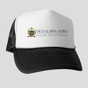 Delta Kappa Alpha Logo Trucker Hat