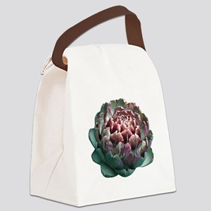 Artichoke. Canvas Lunch Bag
