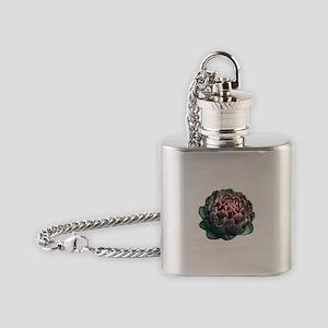 Artichoke. Flask Necklace