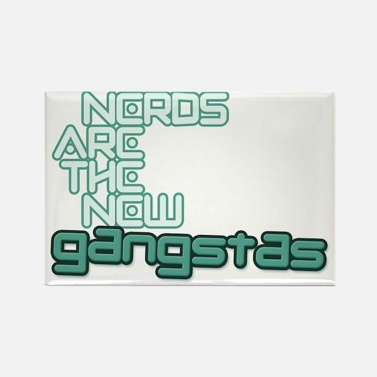 +nerdgangstBD Rectangle Magnet