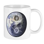 Gino Foti Yin Yang Earth W/Music Clefs Coffee Mug