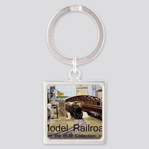Cal2_CoverModel_Trains_0097_BLMcol Square Keychain