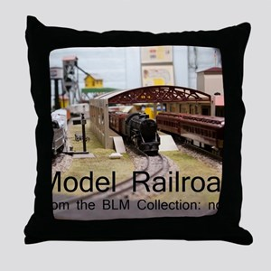 Cal2_CoverModel_Trains_0097_BLMcollec Throw Pillow
