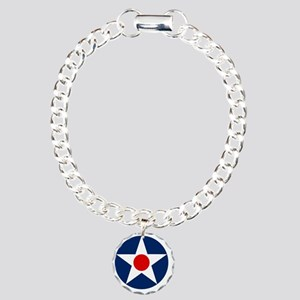 United States Army Air C Charm Bracelet, One Charm