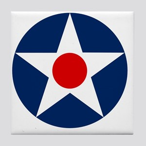 United States Army Air Corp Roundel 1 Tile Coaster