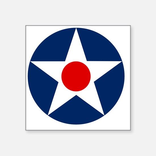 """United States Army Air Corp Square Sticker 3"""" x 3"""""""