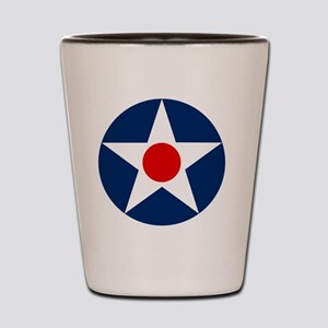 United States Army Air Corp Roundel 192 Shot Glass