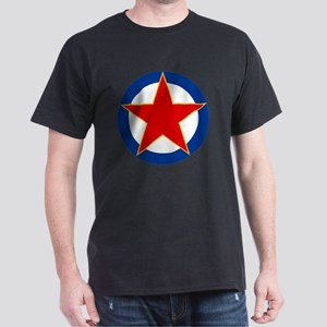 7x7-Roundel_of_SFR_Yugoslavia_Air_For Dark T-Shirt