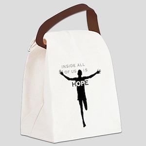 John-cafepress black-B Canvas Lunch Bag