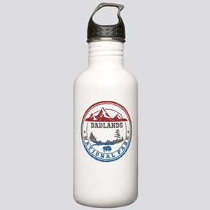 badlands national park Water Bottle