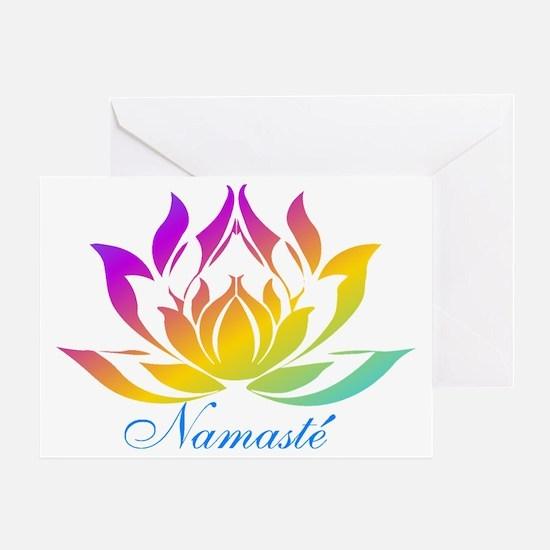 Namaste.gif Greeting Card