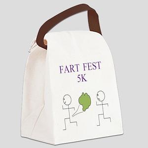fartfest5K Canvas Lunch Bag