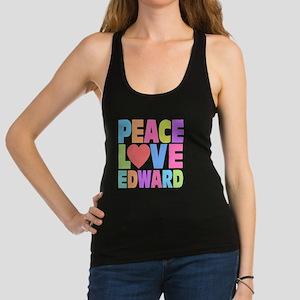 Peace Heart Ed Racerback Tank Top