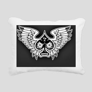spade-wings-CRD Rectangular Canvas Pillow