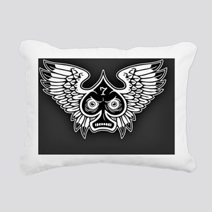 spade-wings-LG Rectangular Canvas Pillow