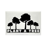 Plant Tree Rectangle Magnet (100 pack)