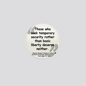 Moore Liberty Quote Mini Button