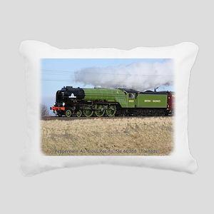 A1 Steam Loco Tornado 9Y Rectangular Canvas Pillow