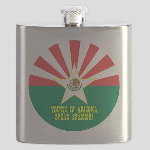mexizona button Flask