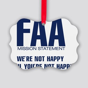 FAA-MissionStatement Picture Ornament