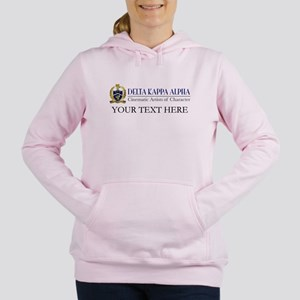 Delta Kappa Alpha Logo P Women's Hooded Sweatshirt
