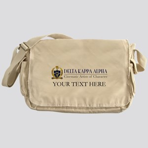 Delta Kappa Alpha Logo Personalized Messenger Bag