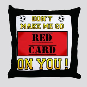red card_edited-7 Throw Pillow