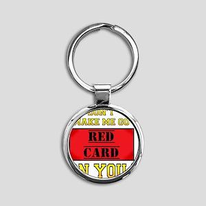 400red card_edited-7 Round Keychain