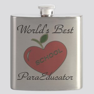Worlds Best Teacher Apple para Flask