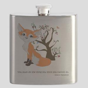 foxtrottshirtLG Flask