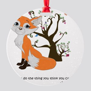 foxtrottshirtLG Round Ornament